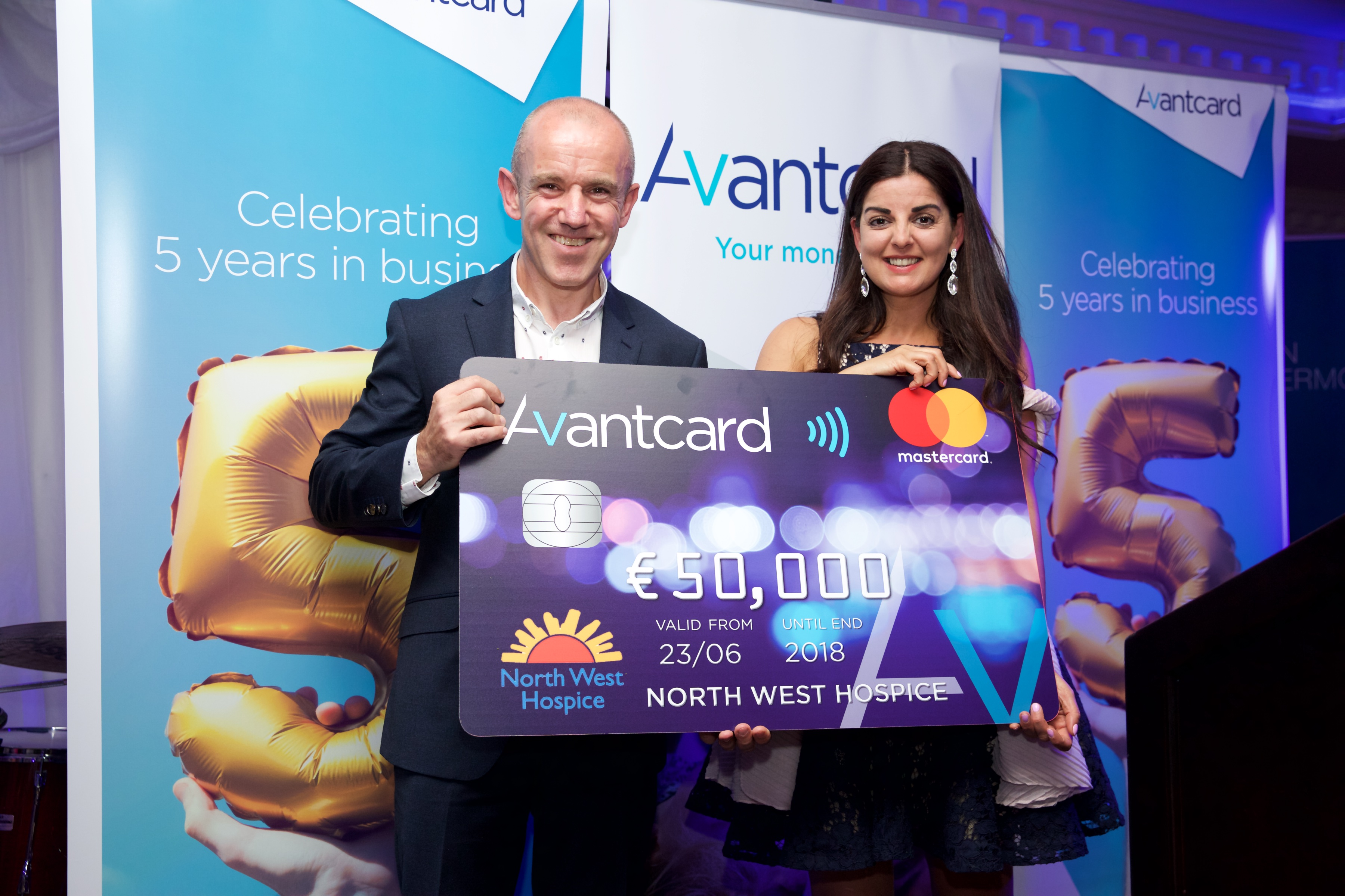 Avantcard donate €50,000 towards North West Hospice new In-Patient Unit.