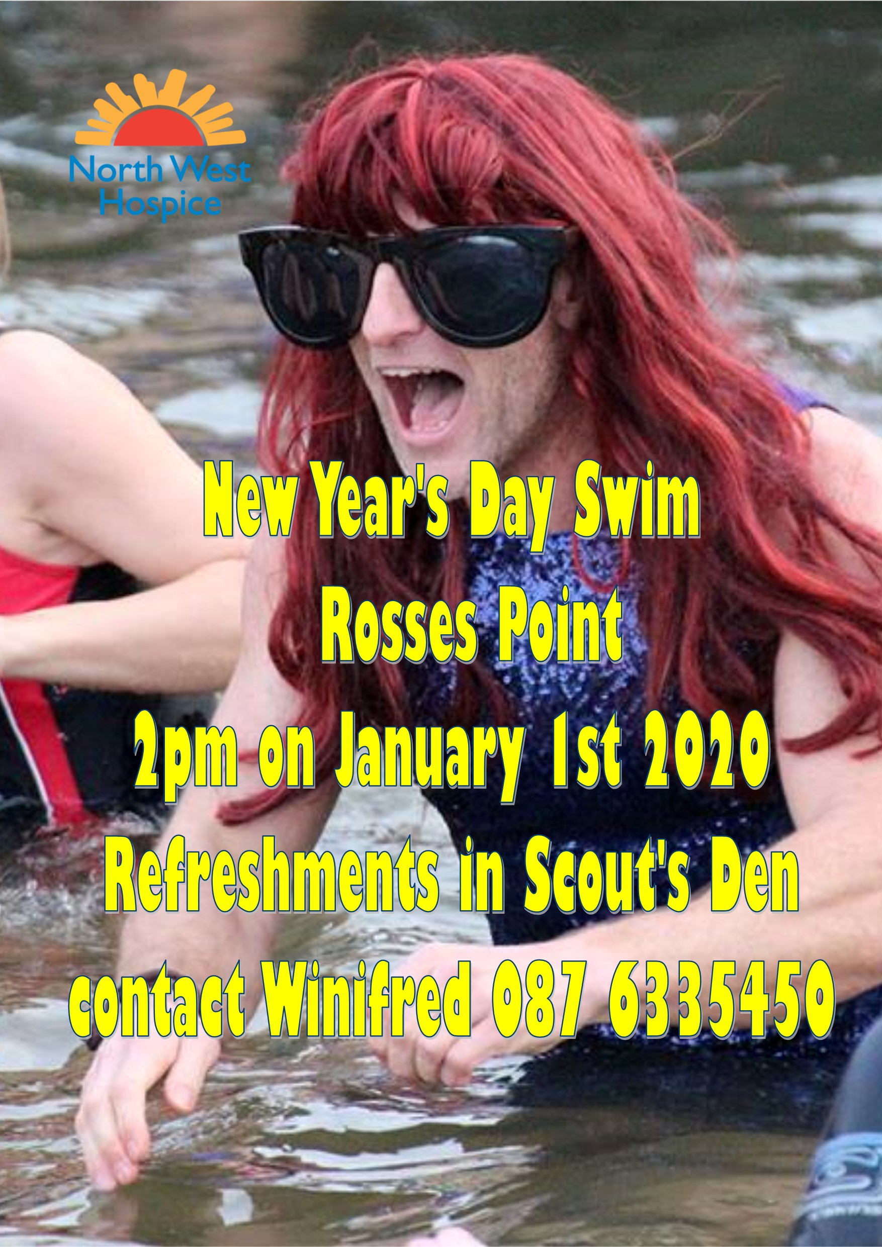 New Year's Day Swim @ Rosses Point in aid of North West Hospice